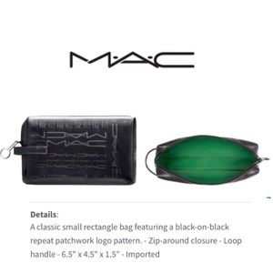 🆕 MAC Small Rectangle Zip Pouch